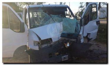 TRES ARROYOS: El conductor de una combi que viajaba a Necochea murió tras chocar contra un árbol