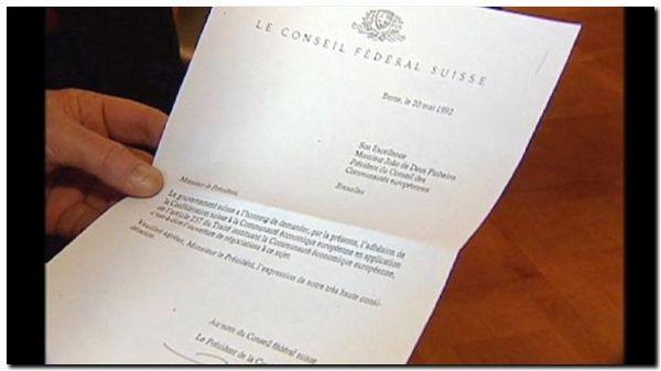 Suiza cancela su petición de adhesión a la Unión Europea