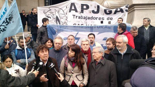 PROTESTA: Movilización por las muertes de Orellana y Soria