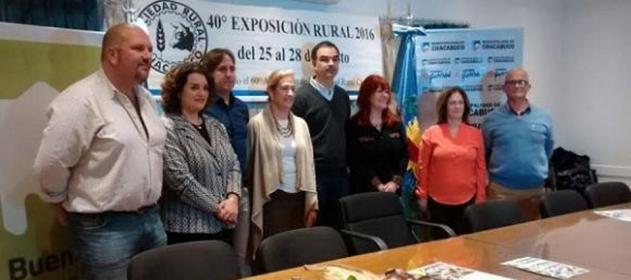 CARBAP presente en la inauguración oficial de la °40 Exposición Rural de Chacabuco