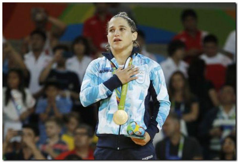 Paula Pareto, medalla de oro