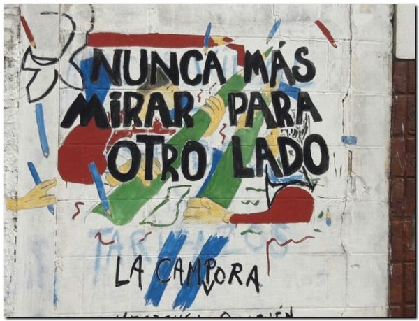 """Mural """"La noche de los Lápices"""""""