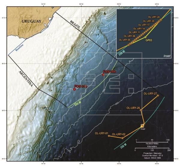 La ONU otorga a Uruguay la extensión de 300 millas de la plataforma continental