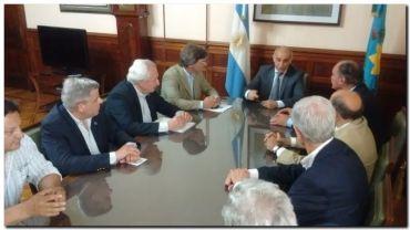 CARBAP se reunió con el vicegobernador de Buenos Aires y senadores provinciales en La Plata
