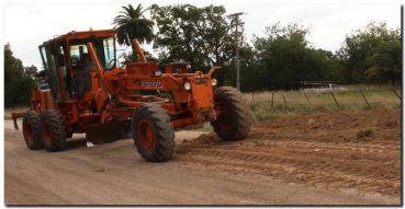 LOBERIA: Maquinaria recuperada y en marcha