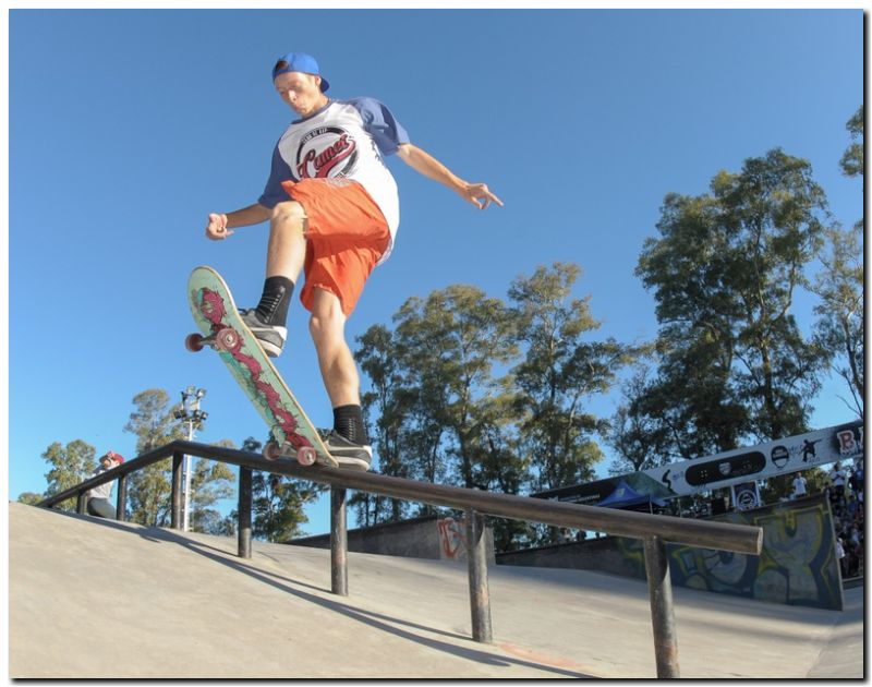 DEPORTES: Tres marplatenses lideran el ranking general de skate