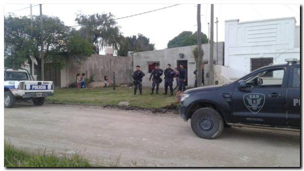 POLICIALES: Allanamiento en Quequén