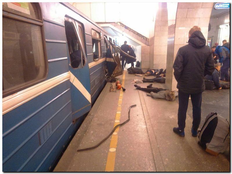 EL MUNDO: Atentado en San Petersburgo dejó 11 muertos y 45 heridos