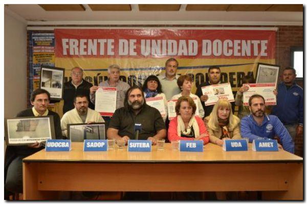 EDUCACIÓN: Docentes piden reunión urgente a provincia
