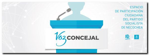 NECOCHEA: Proyecto llamado Voz Concejal