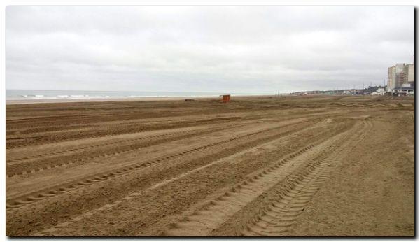 NECOCHEA: El municipio acondiciona la playa luego del Enduropale 2017