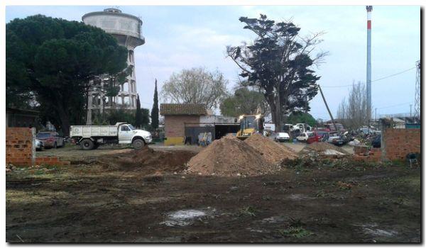 NECOCHEA: Hoy comienza a levantarse el paredón en la Escuela Primaria N° 10