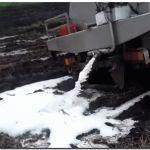 AGRO: Tamberos tiraron leche en protesta por la visita de Cristina