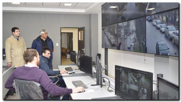 NECOCHEA: Centro de Operaciones, puesta a punto de las cámaras