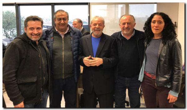 POLÍTICA: Taiana, Scioli y Yasky se reunieron con Lula Da Silva