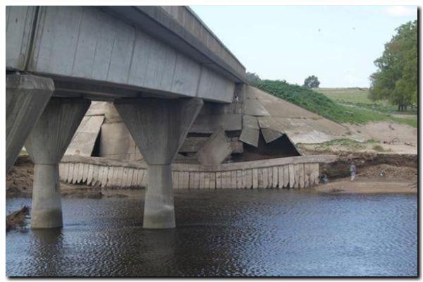 NECOCHEA: Desde mañana, se cerrará el Puente Taraborelli por reparación