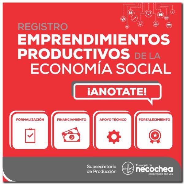 NECOCHEA: Detalles del Registro municipal que viene a favorecer a la economía social