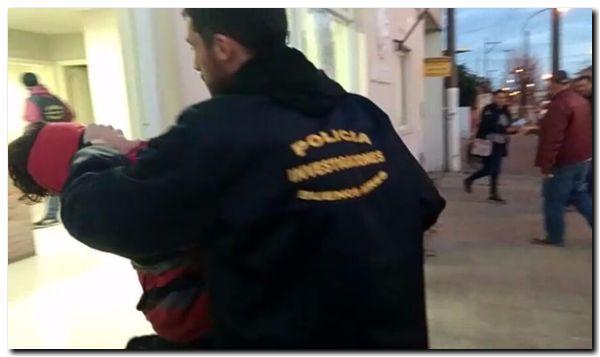 POLICIALES: Allanamiento y detención en Necochea