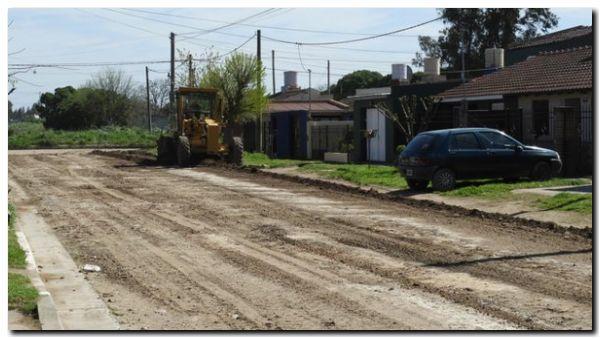 NECOCHEA: El arreglo de calles parece impactar en los vecinos