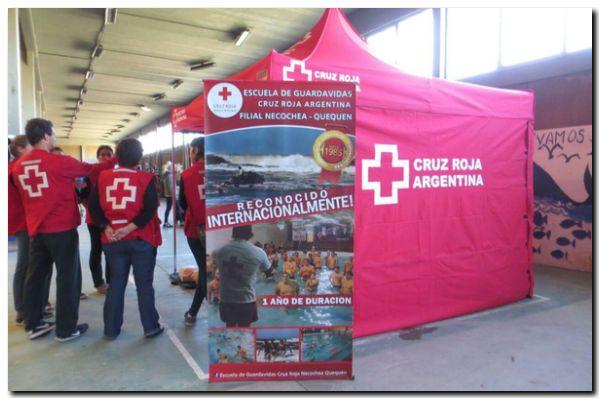 NECOCHEA: Actividad de la Cruz Roja local