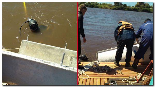 NECOCHEA: Avanzan las tareas en el caño subfluvial del Río Quequén