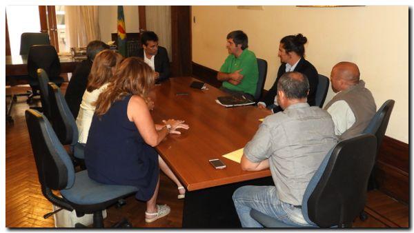 NECOCHEA: Facundo López se reunió con representantes de Unicen y Apla