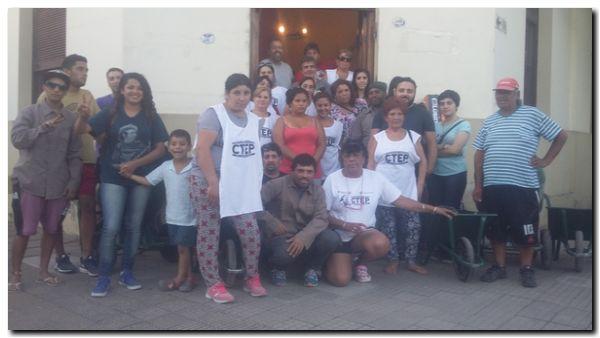 NECOCHEA: CTEP presentó Programa Argentina Trabaja