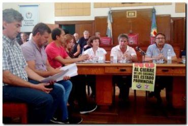 CASINO: Trabajadores del Casino paran en toda la Provincia