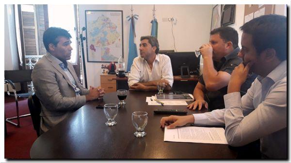 NECOCHEA: López, en Seguridad de la Provincia, solicitó más móviles y personal policial