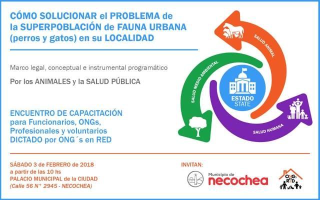 NECOCHEA: Invitaciones Jornadas Necochea 2018