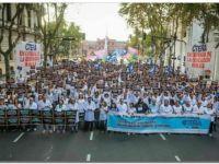 EDUCACIÓN: Sentada docente frente a la Casa Rosada
