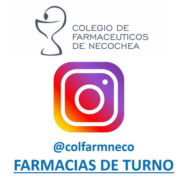 NECOCHEA: Tu farmacia de turno, la encontrás en Instagram
