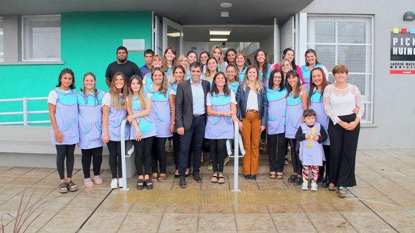 NECOCHEA: Se inauguró el Jardín Pichi Huinca