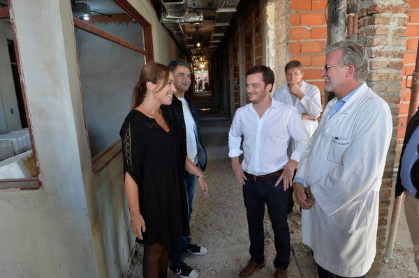 PROVINCIA: Visita de Vidal al Hospital Antonio Cetrángolo