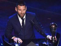 Lionel Messi recibió el premio The Best