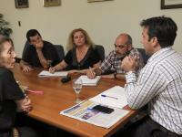 Arturo Rojas evaluó la situación de los empleados municipales con ATE