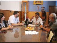 Encuentro en Lobería con la Facultad de arquitectura