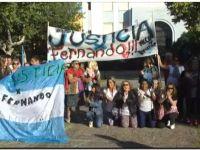 Marcha en Necochea por la muerte de Fernando Baez Sosa
