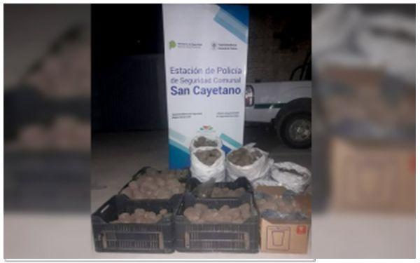 Empleados Municipales de San Cayetano robaron a la comuna