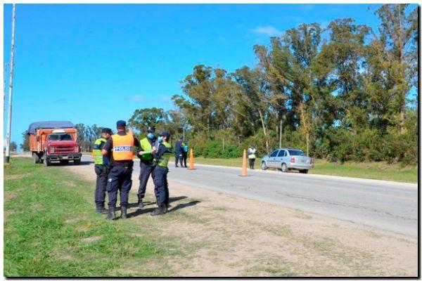 Municipio y fuerzas de seguridad refuerzan controles en los accesos