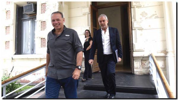 Berni cuestionó la liberación de presos y dijo que el control con tobilleras «es un verso»