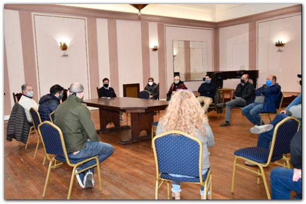 Tuvo desarrollo el primer Comité de Emergencia destinado a la Producción