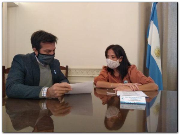 Trabajo conjunto de Rojas y Sánchez Jáuregui por accesos del Distrito