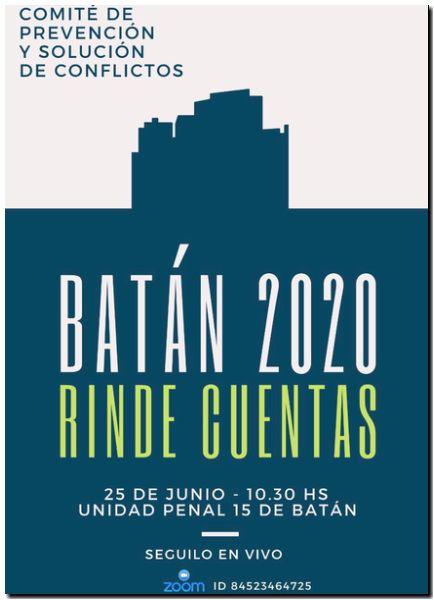 """""""Batán Rinde Cuentas"""""""