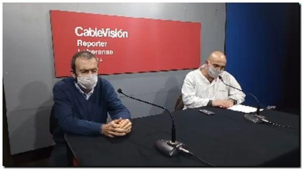 Caso confirmado en la ciudad de Lobería. Se trata de una trabajadora del Hospital Municipal, sector lavadero, de 40 años de edad