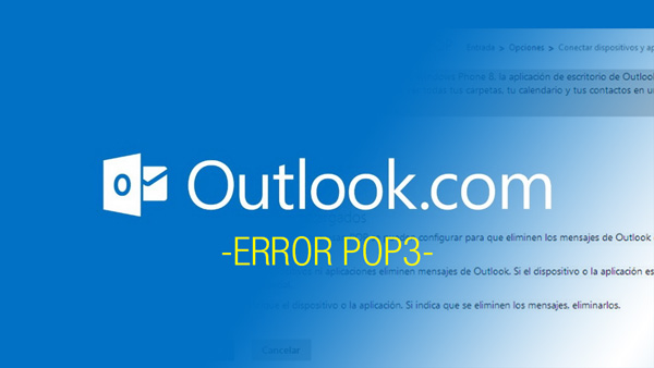 outlook error pop3