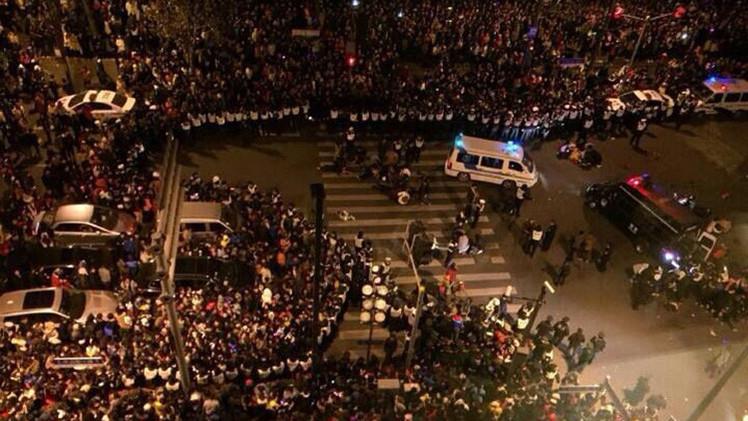35 muertos y 42 heridos durante fiestas de Año Nuevo en Shangai