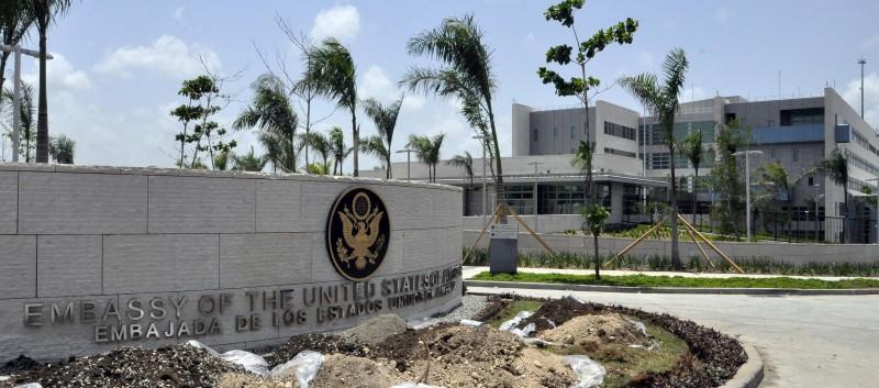 Embajada de Estados Unidos en RD cerrará Centro de atención de Visa próximo viernes