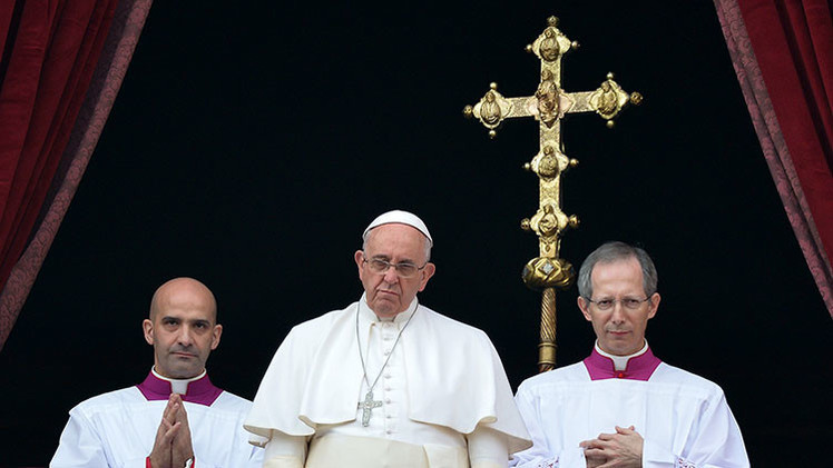 """Papa Francisco : """"Demasiadas lágrimas en esta Navidad"""""""