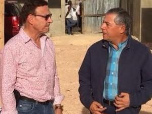 Roberto Salcedo recorre la Duarte con París